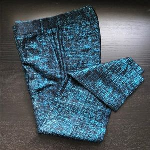 Express Metallic Crop Pants